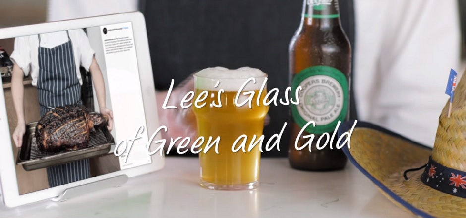 Social Bartender Recommends: Lee's Glass of Green and Gold