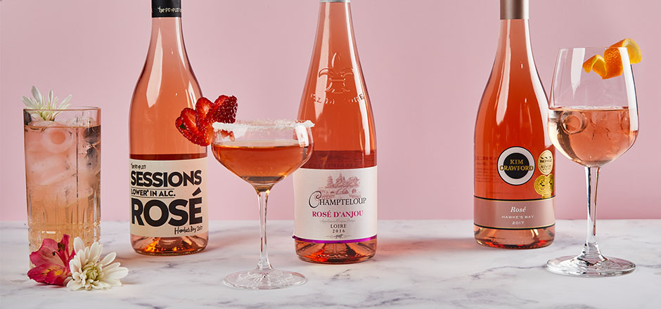 Winter is Almost Over – So Let's Make Rosé Cocktails