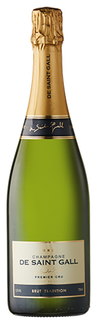 De Saint Gall Champagne Brut Tradition Premier Cru 750mL