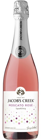 Jacob's Creek Sparkling Moscato Rose 750mL
