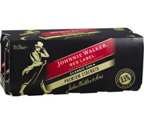 Johnnie Walker Red Premium Can 375mL 10pk