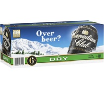 Canadian Club Premium and Dry (10 Pack) Can 375mL