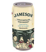 Jameson Smooth Dry & Lime Ltd Edition Can 375mL