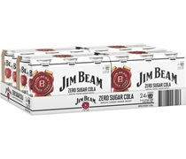 Jim Beam Zero Sugar Cola Cans 375mL
