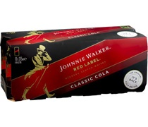 Johnnie Walker Red & Cola 375mL (10 pack)