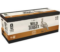 Wild Turkey & Cola Can 375mL (10 pack)