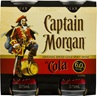 Captain Morgan Spiced Rum & Cola Can 6% 375mL