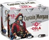 Captain Morgan Spiced Rum & Cola Can 4.5% 375mL