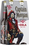 Captain Morgan & Cola Bottle 4.5% 330mL