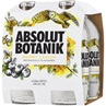 Absolut Botanik Berry Lemon Bottle 330mL