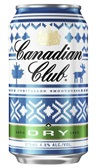 Canadian Club & Dry Winter Cube Can 375mL