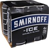 Smirnoff Ice Double Black Vodka Cans 375mL