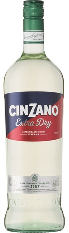 Cinzano Dry Vermouth 1000mL