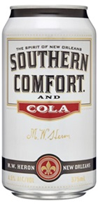 Southern Comfort & Cola Cans 375mL (10 pack)