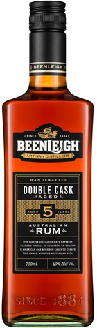 Beenleigh Double Barrel Dark Rum 700mL