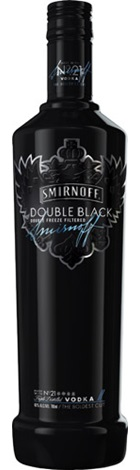 Smirnoff Double Black Vodka 700mL