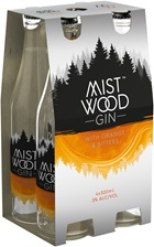 Mist Wood Orange & Bitters Gin 320mL
