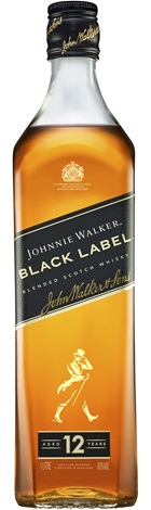 Johnnie Walker Black Label Whisky 1 Litre