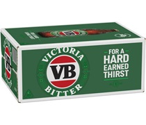 Victoria Bitter Bottle 375mL