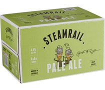 Steamrail Pale Ale Bottle 330mL