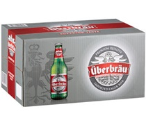 Uberbrau Imported Lager Bottle 330mL