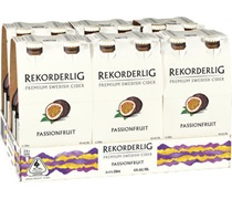 Rekorderlig Passionfruit Cider Bottle 330mL