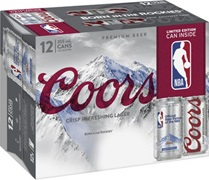 Coors Light Can (12 pack) 355mL