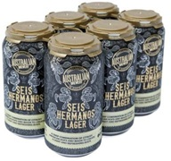 Australian Brewery Seis Hermanos Mexican Lager Can 375mL