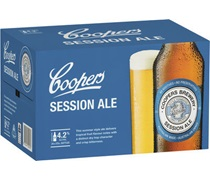 Coopers Session Ale 6pack 375mL
