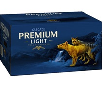 Cascade Premium Light Bottle 375mL