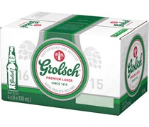 Grolsch Premium Lager Bottle 330mL