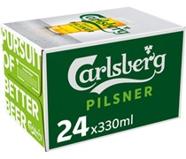 Carlsberg Green Bottle 330mL