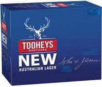 Tooheys New Block Can 375mL