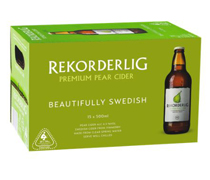 Rekorderlig Pear Cider Bottle 500mL