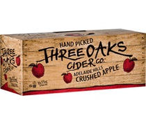 Three Oaks Original Cider 10pk Can 375mL