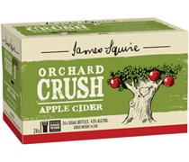 James Squire Orchard Crush Apple Cider Bottle 345mL