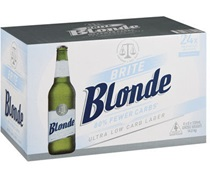Brite Blonde Ultra Low Carb Bottle 330mL