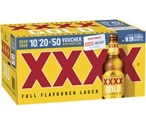 XXXX Gold Bottle 375mL