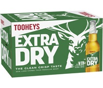 Tooheys Extra Dry Bottle 345mL