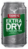 Tooheys Extra Dry Can 375mL