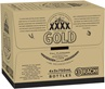 XXXX Gold Rack Pk Bottle 750mL