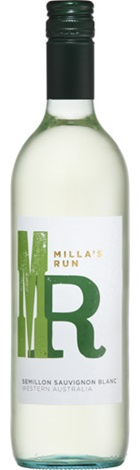 Milla's Run WA Semillon Sauv Blanc 750mL