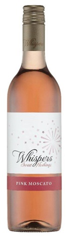 Whispers Pink Moscato 750mL