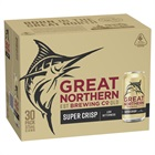 Great Northern Super Crisp Lager Block Can 375mL