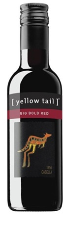 Yellow Tail Big Bold Red Piccolo 187mL