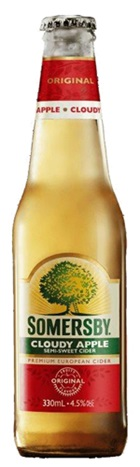 Somersby Cloudy Apple Cider Bottle 330mL