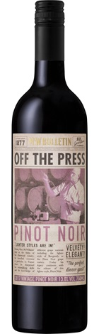 McWilliams Off The Press Pinot Noir 750mL