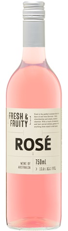 Cleanskin Fresh & Fruity SEA Rose 750mL