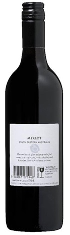 Cleanskin Smooth & Round SEA Merlot 750mL