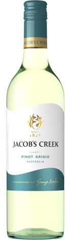 Jacob's Creek Pinot Grigio 750mL